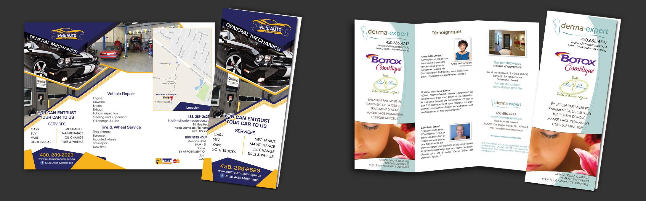 Brochures /folded flyers/