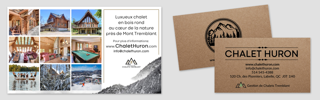 Chalet bus card