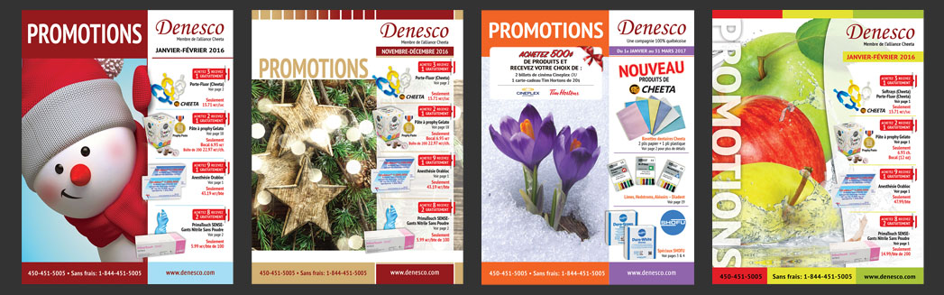 Denesco catalogs